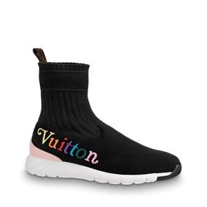 Louis Vuitton new wave aftergame sneaker boot 38.5